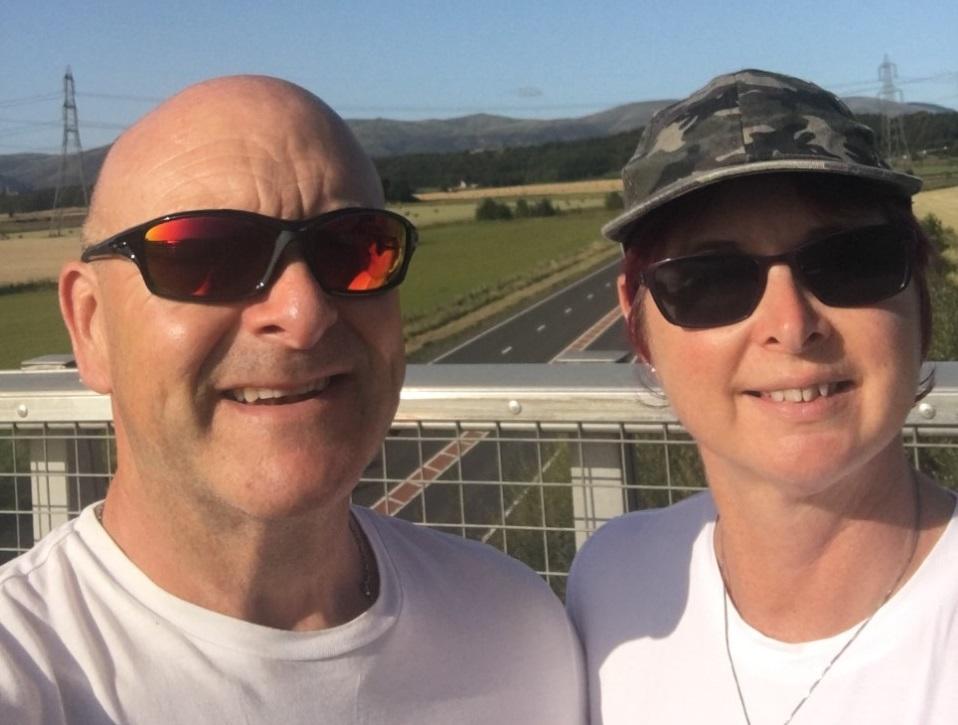 Kincardine man's £25,000 fundraiser after cardiac arrest