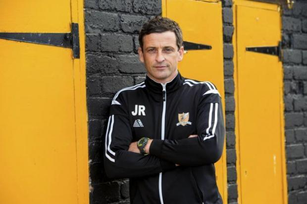 Alloa and Hillfoots Advertiser: Jack Ross guided Alloa to the quarter finals of the competition in 2016/17