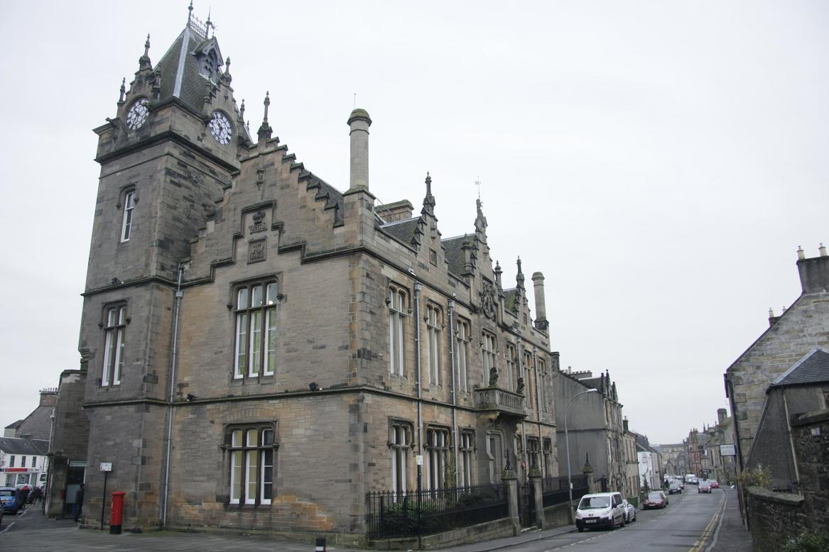 The case was held in private at Alloa Sheriff Court