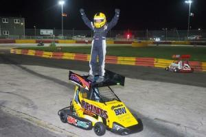 Robbie Armit, from Alva, picks up the European Championship last weekend
