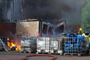 Fire breaks out at Alva factory