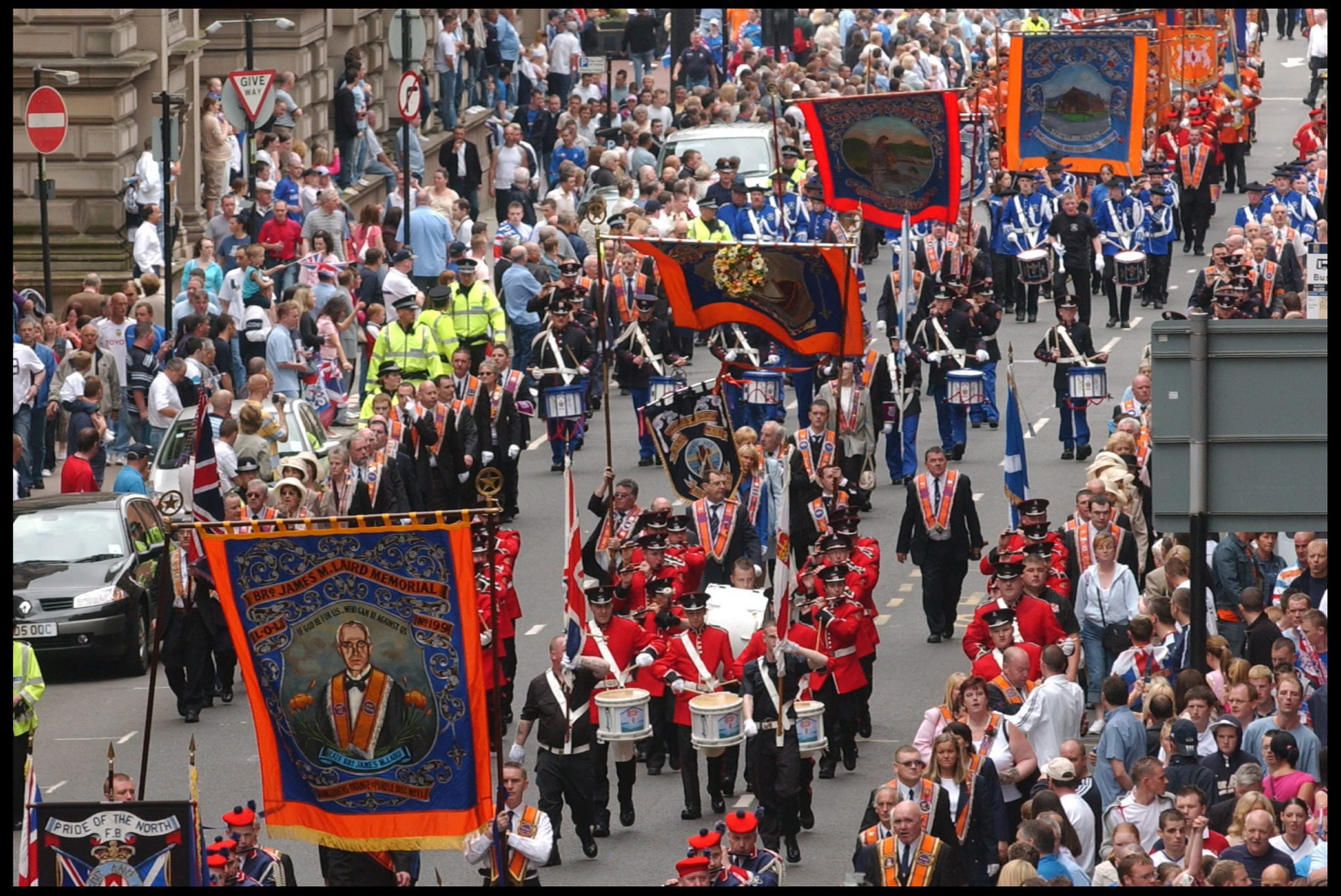 Road closures in place for Orange Walk in Alloa