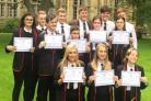 These Lochgelly High pupils wer outstanding in a venture held with St Andrews University.