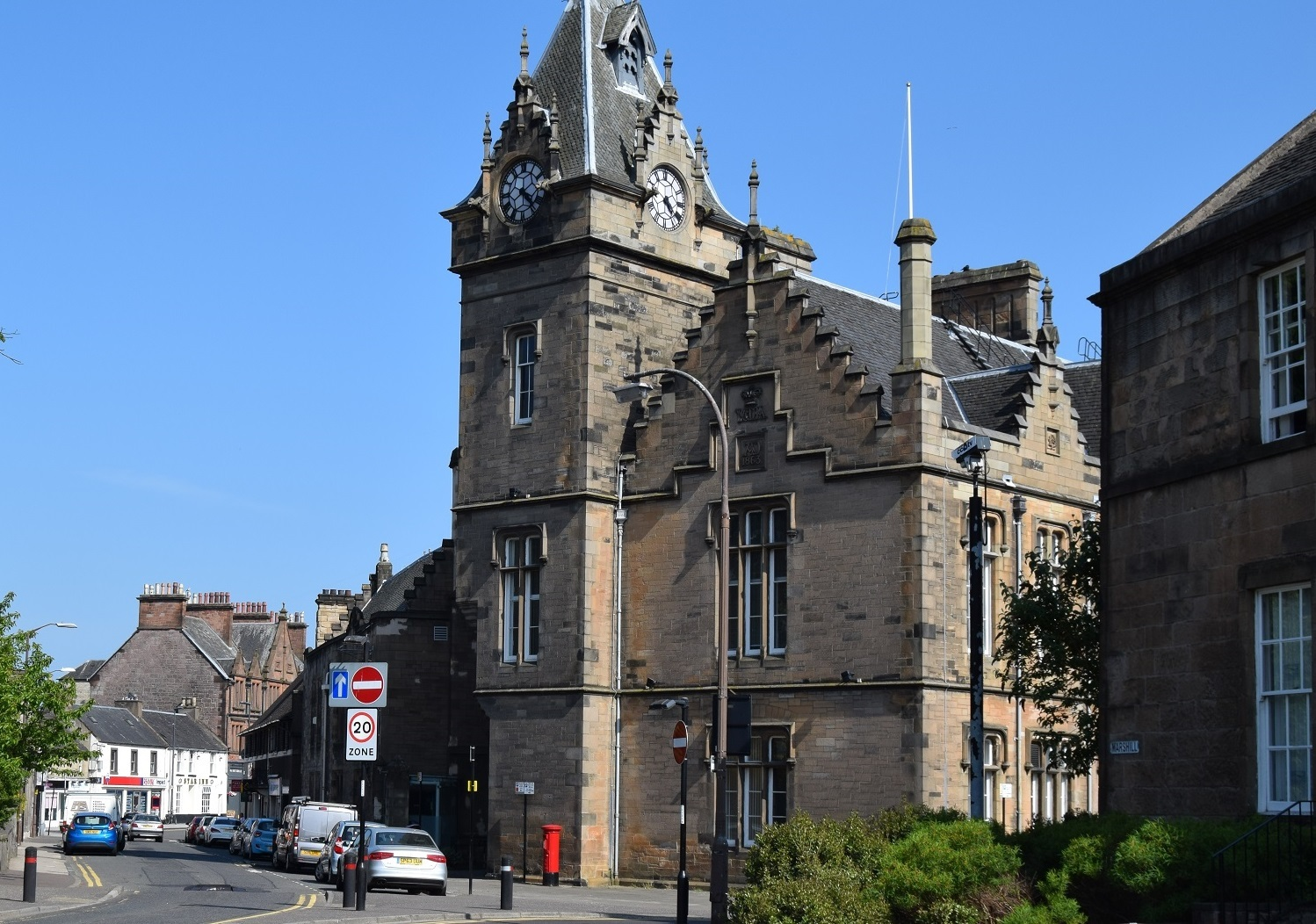CLOSE CALL: Pitzer was given a final warning at Alloa Sheriff Court last week