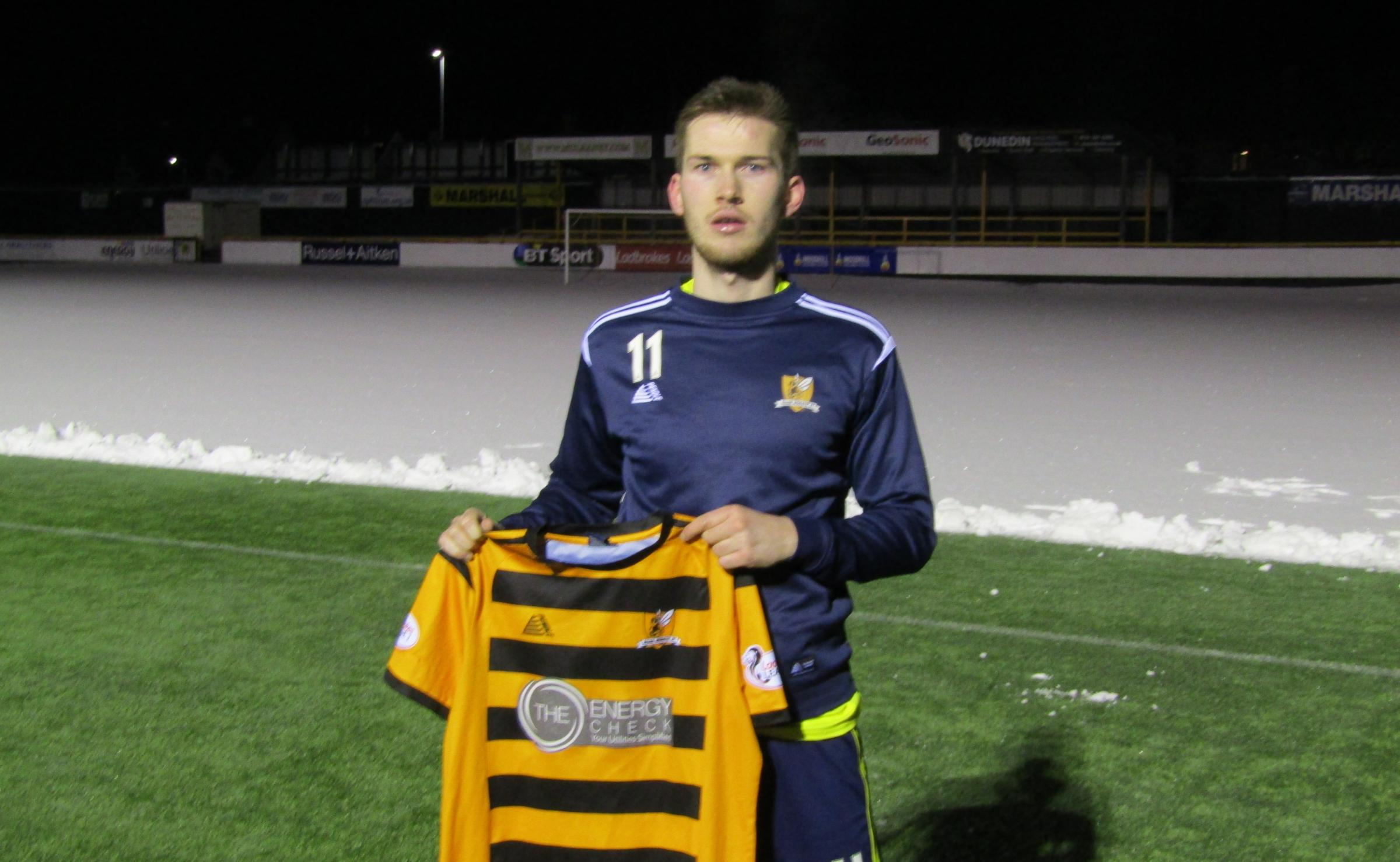 Alloa's newest recruit is eyeing Scottish Cup debut