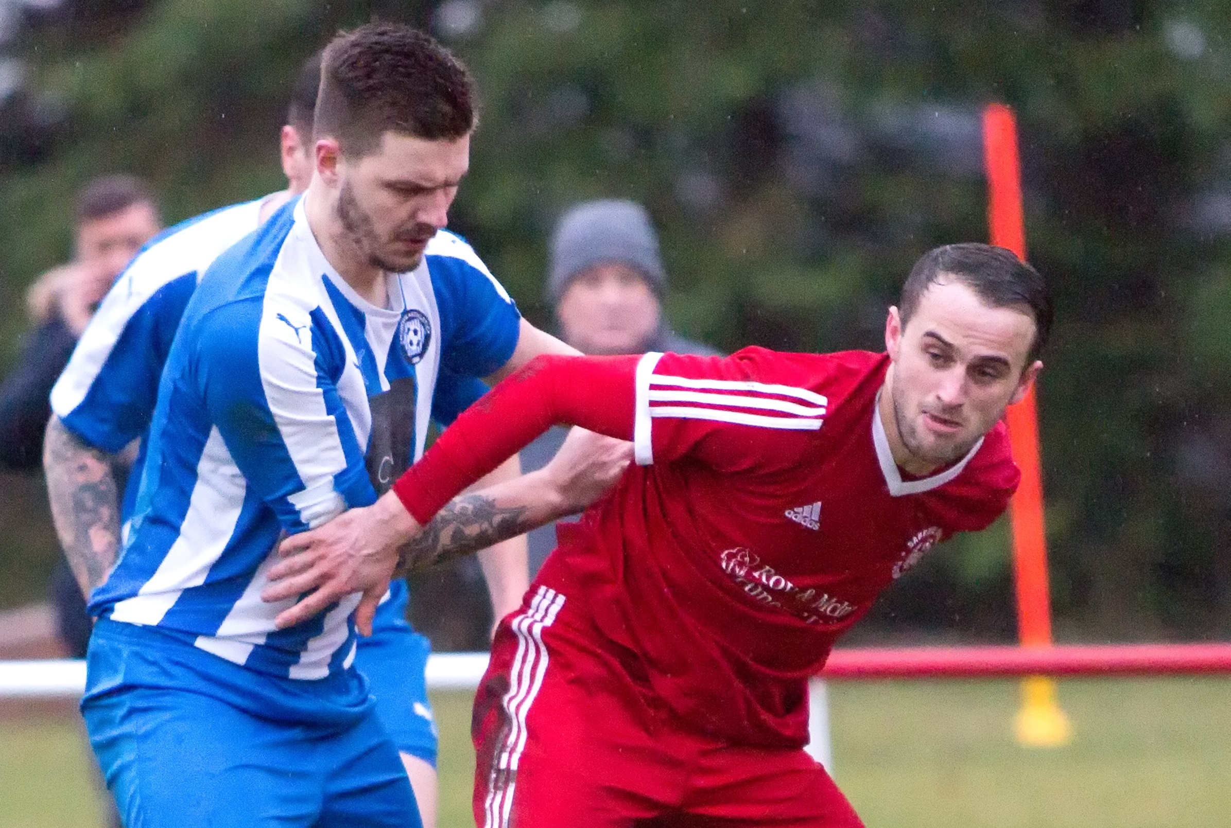 DETERMINED: Ant McTaggart is targeting a Scottish Cup run, starting with defeating Bellshill this Saturday
