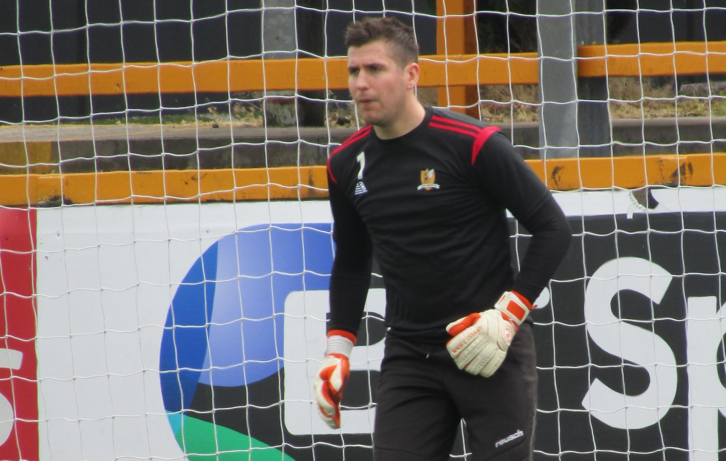 NO FEAR: Alloa keeper Neil Parry feels his side can get a result at Ayr this weekend
