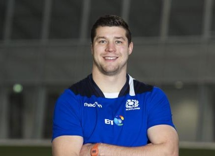 Wee County rugby star Grant Gilchrist looks ahead to the Six Nations