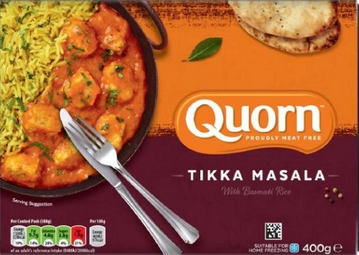 Meal recalled over possible rubber contamination