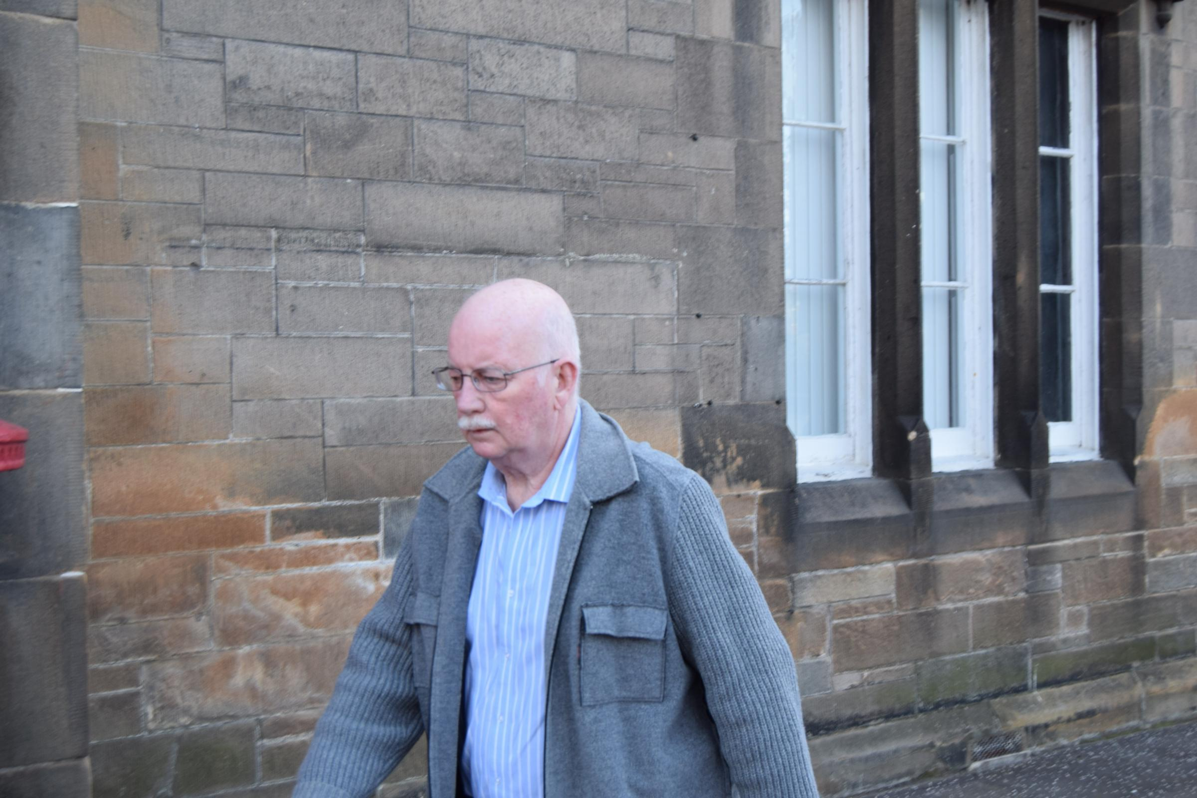 Alistair MacCorquodale appeared in Alloa Sheriff Court