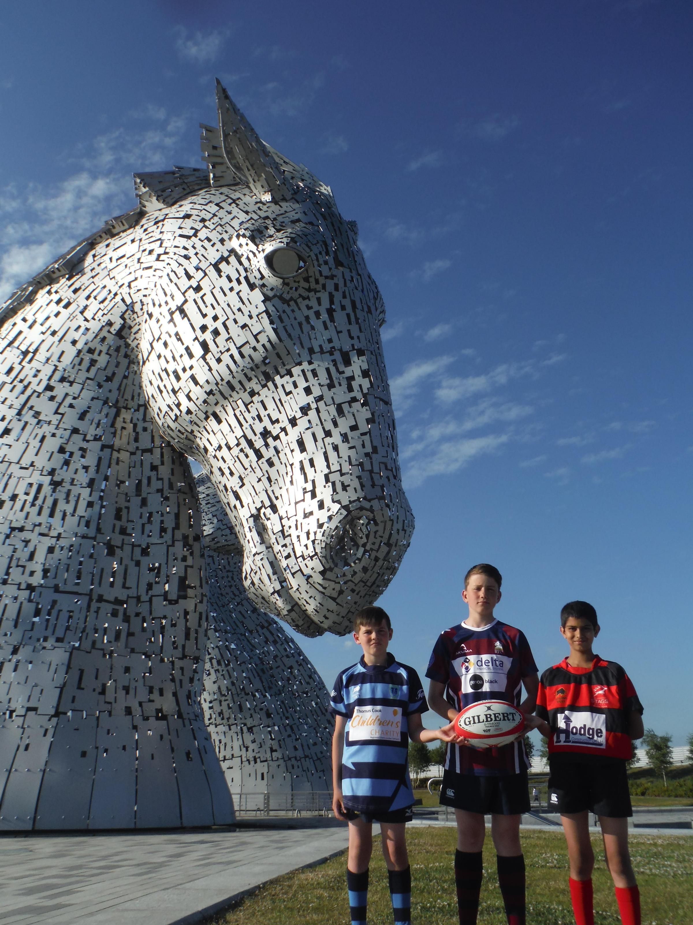 The Kelpies rugby side was officially launched last week