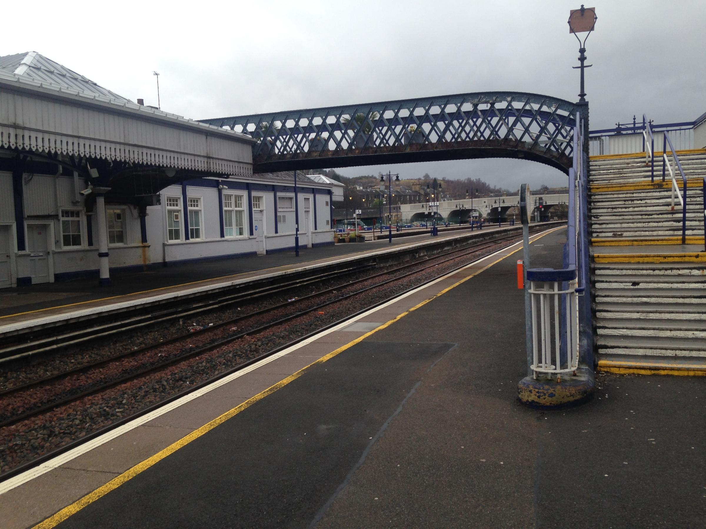 CHANGES AFOOT BRIDGE: Work will begin on the Platform 9-10 crossing. Image courtesy of Network Rail