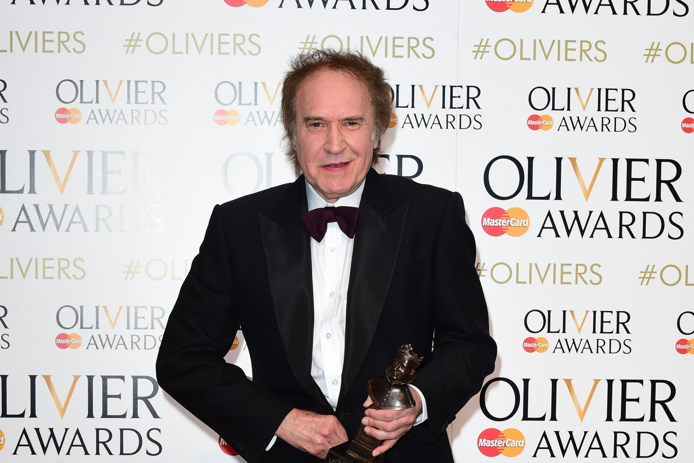 Sir Ray Davies attends the Olivier Awards 2015