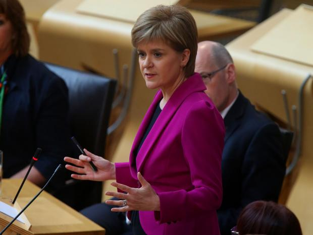 Alloa and Hillfoots Advertiser: Nicola Sturgeon outlined the rules in the Scottish Parliament