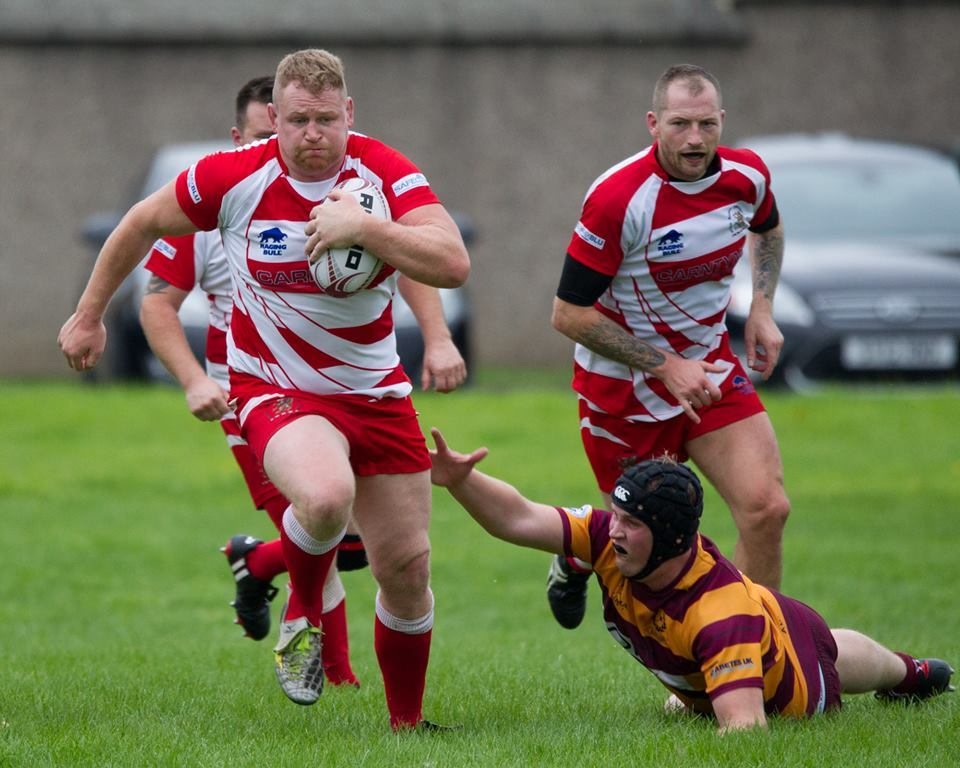 Alloa RFC started the season off with a victory against Aberdeen visitors Ellon