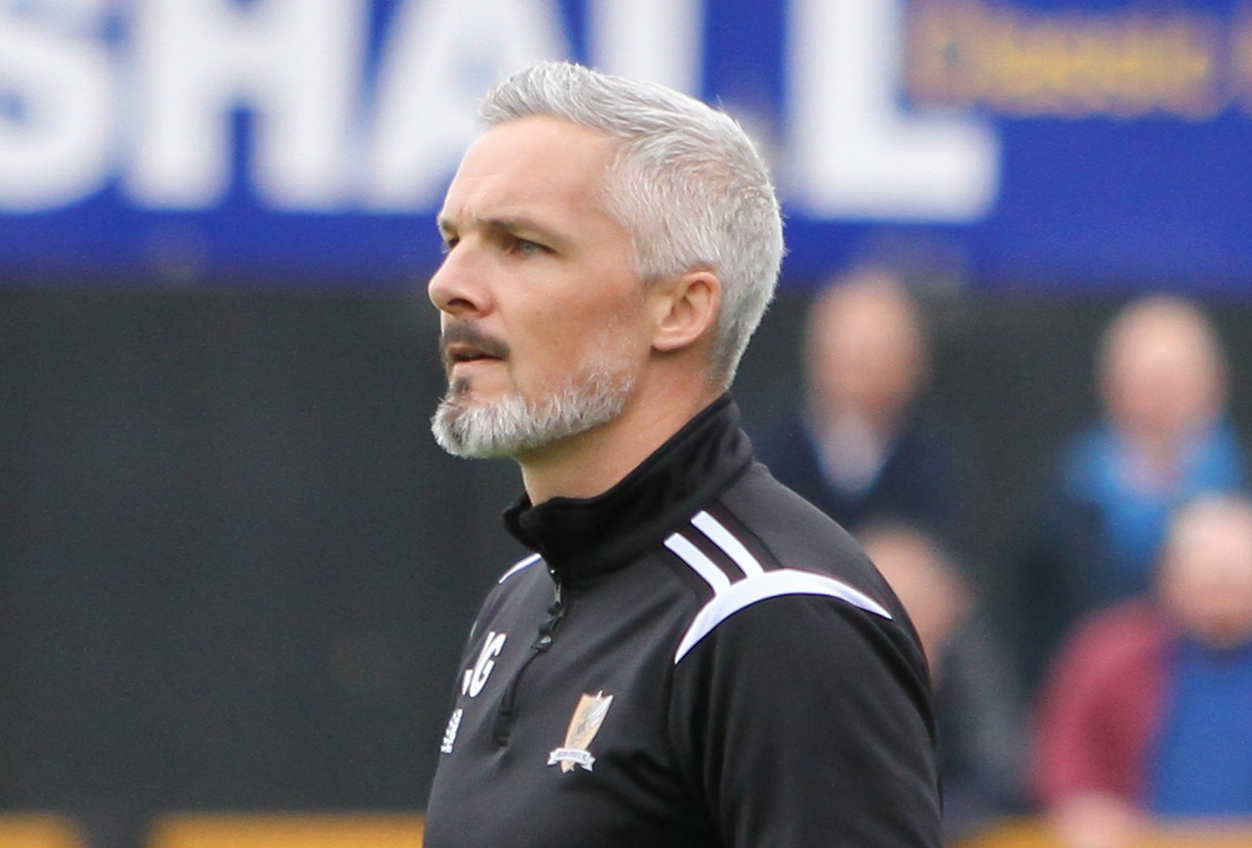 FRUSTRATED: Alloa boss Jim Goodwin feels his side should have taken all three points against Dundee United. Picture by John Howie