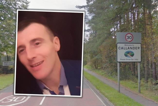 Callander man reported missing