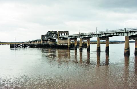 The bridge will close at night for more than seven weeks