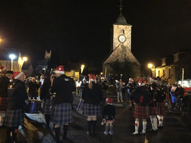 READY TO GO: A big turnout is expected for this Sunday's Light Up Clackmannan event