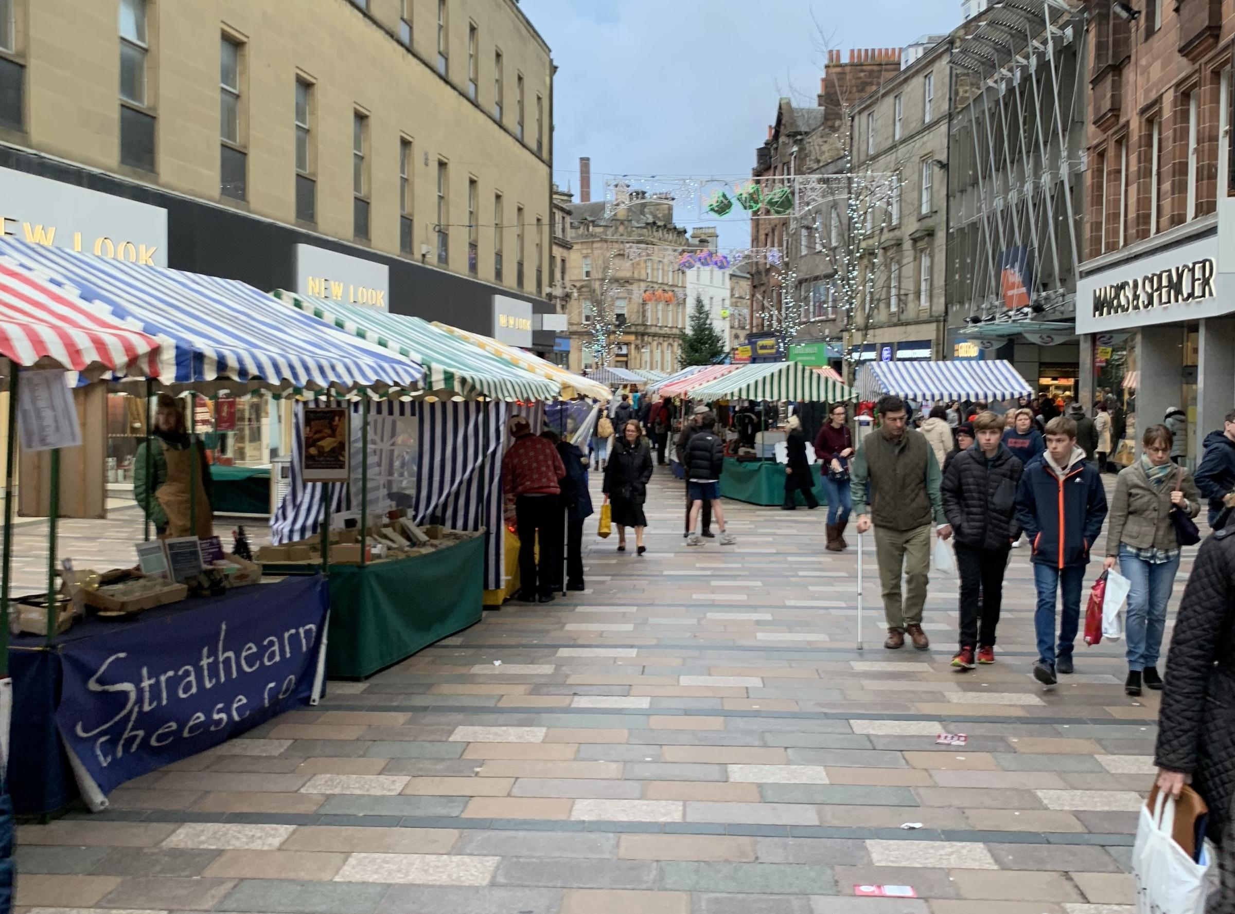 MARKET PLACE: The Stirling Farmer's Market will return to Port Street this weekend