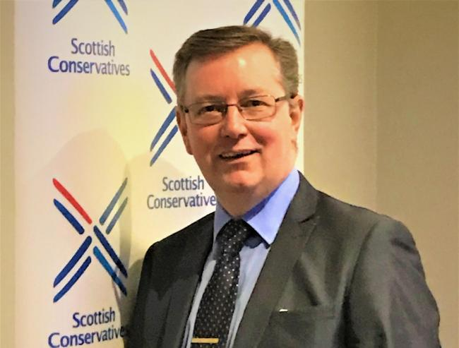 Alexander Stewart, Conservative MSP for Mid Scotland and Fife
