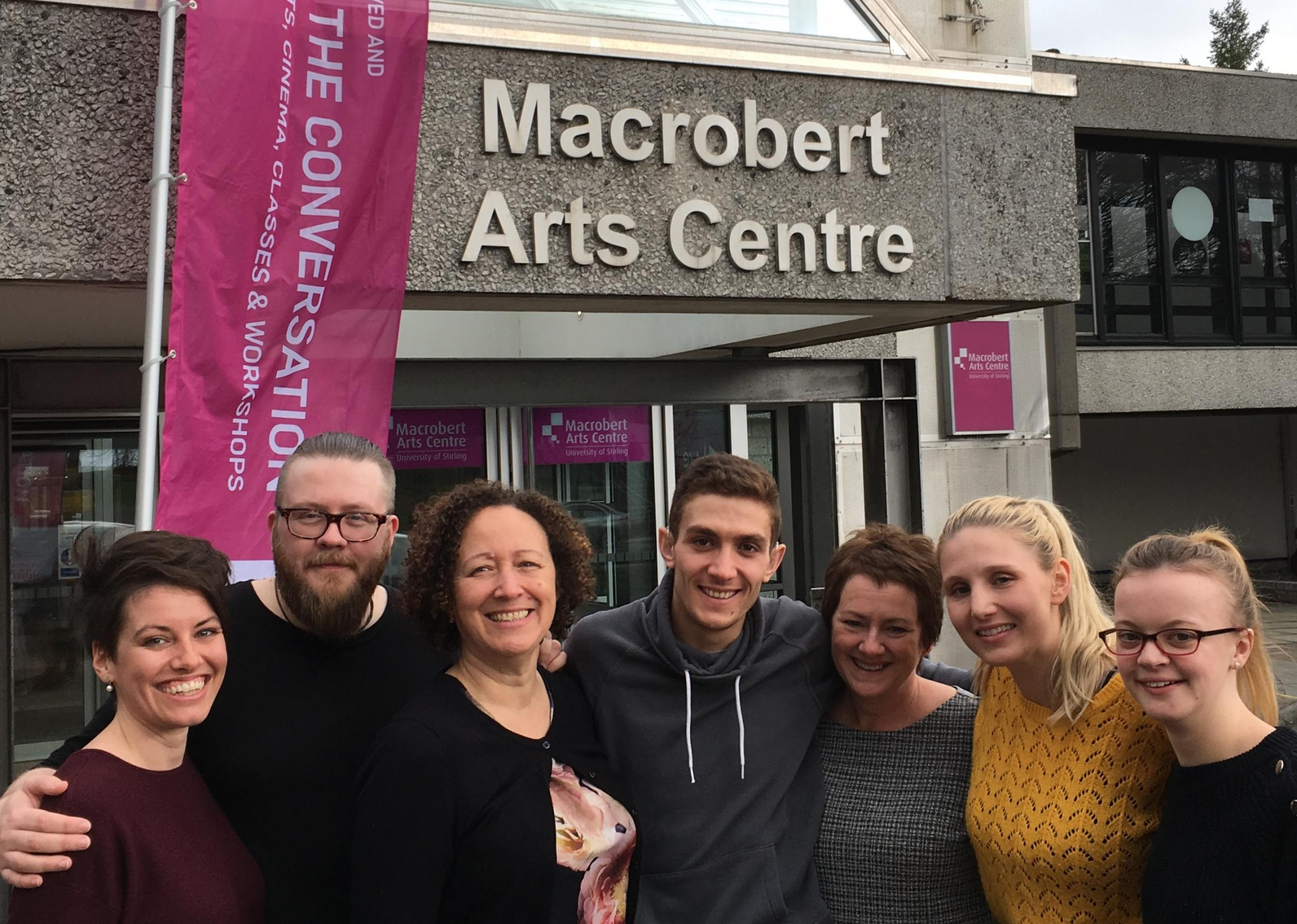 Staff at the Macrobert Arts Centre in Stirling