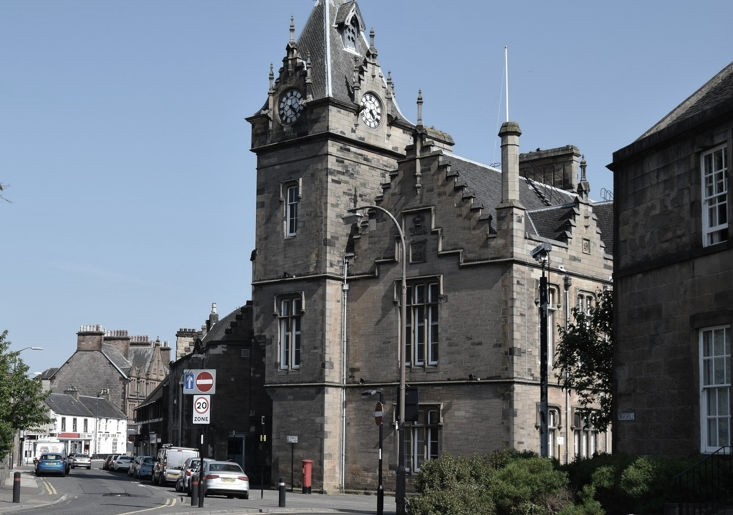The details of the case were heard at Alloa Sheriff Court last week