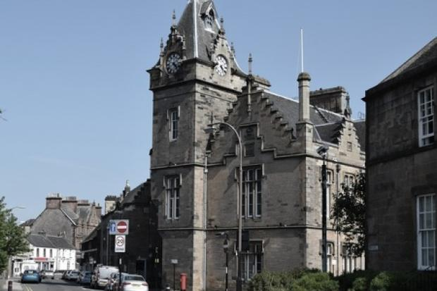 The case called at Alloa Sheriff Court last week