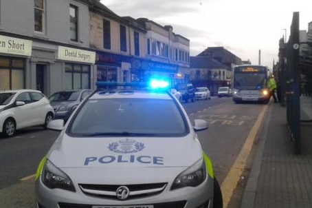 Police were seen at Shillinghill shortly after the call-out