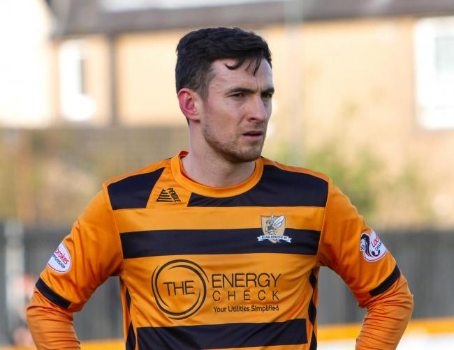 DEDICATION: Kevin Cawley made his 300th appearance for Alloa last month. Pic by John Howie