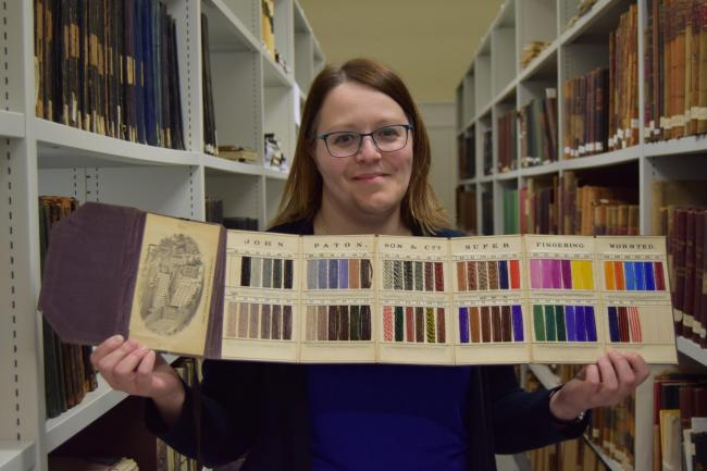 Clackmannanshire's archivist Susan Yule is highlihgting the services on offer throughout April as part of a national social media campaign by the Archives and Records Association