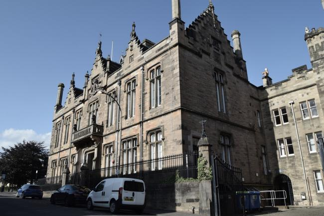 IN THE DOCK: The case called at Alloa Sheriff Court