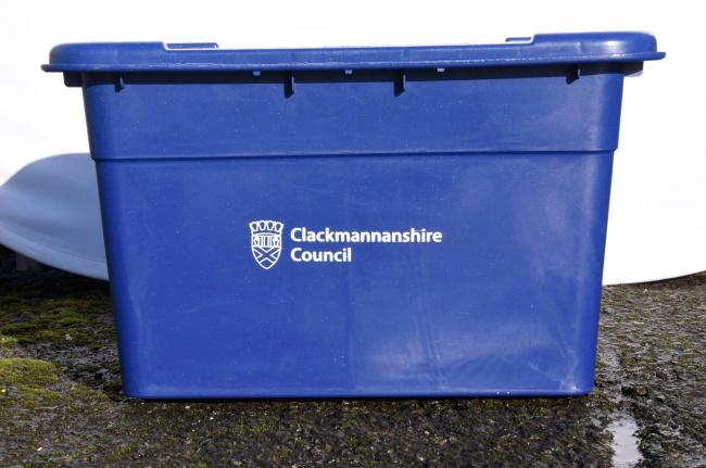 The council have not decided when they will actually end the blue box collection service