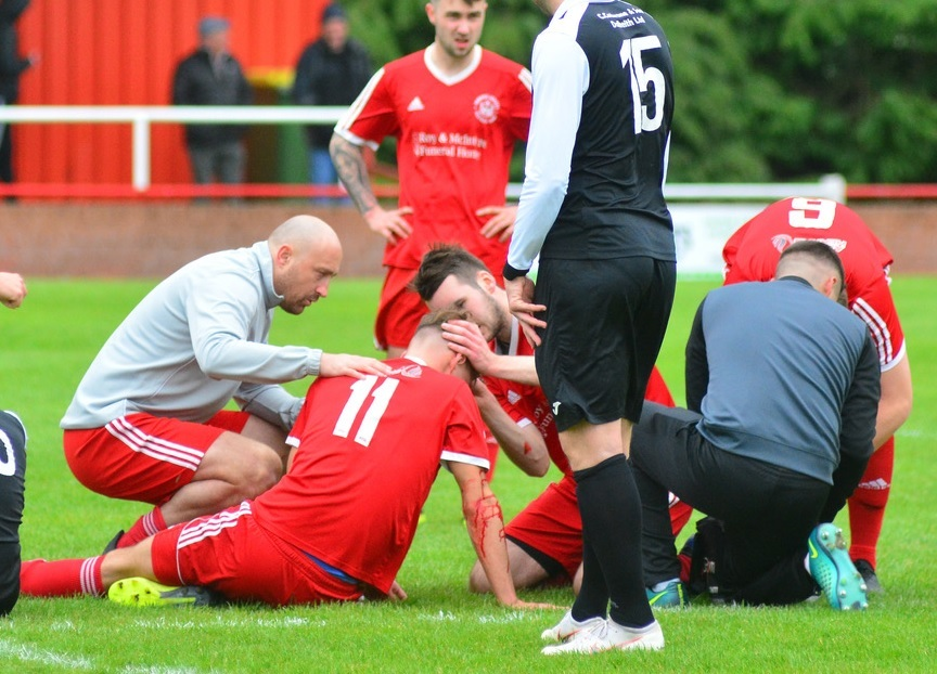 Diack was irked by tthe manner which Sauchie's season came to an end. Picture by Jan van der Merwe