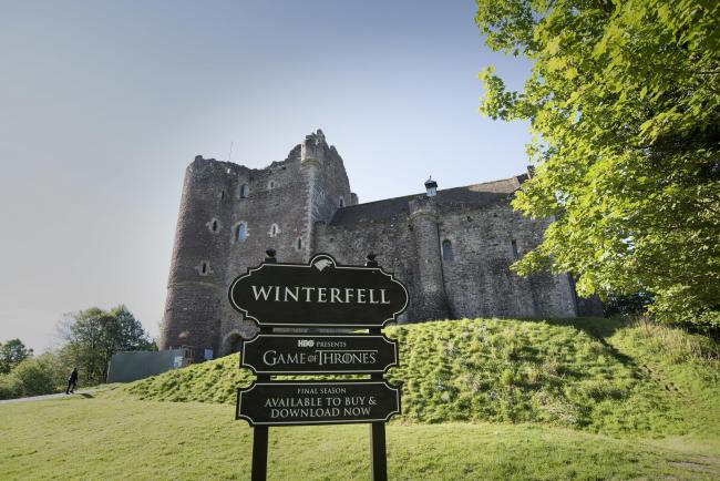 Doune Castle has been renamed as Winterfell to mark the release of the final season of Game of Thrones