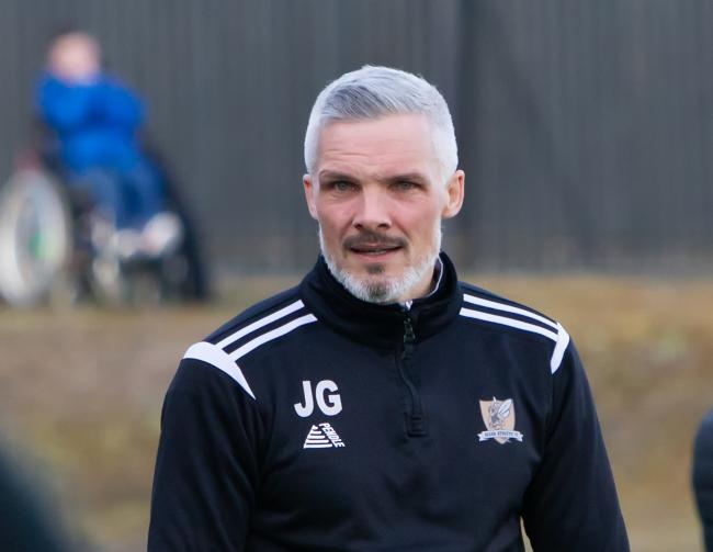 DECISION: Reports suggest Jim Goodwin is favourite to take over at Dundee this summer. Picture by John Howie